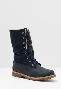Timberland - 6 IN WP BOOT - Lace-up ankle boots - medium blue - 6