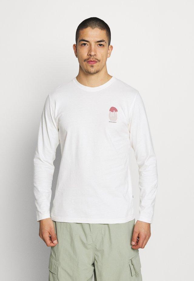 PETER SHROOM LONG SLEEVE - Bluzka z długim rękawem - off-white