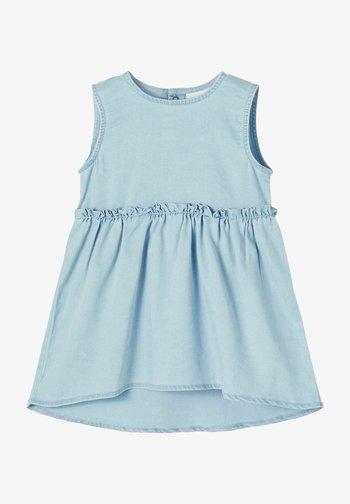 Denim dress - light blue denim