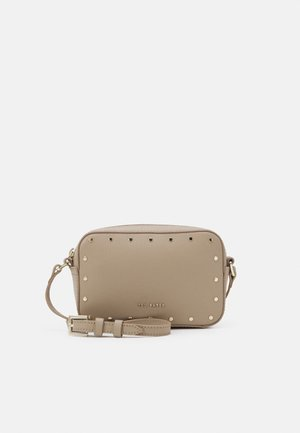 KARSYNN STUDDED CAMERA BAG - Across body bag - taupe