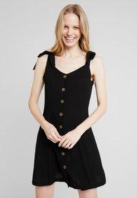 NAF NAF - LINA - Robe chemise - noir - 0
