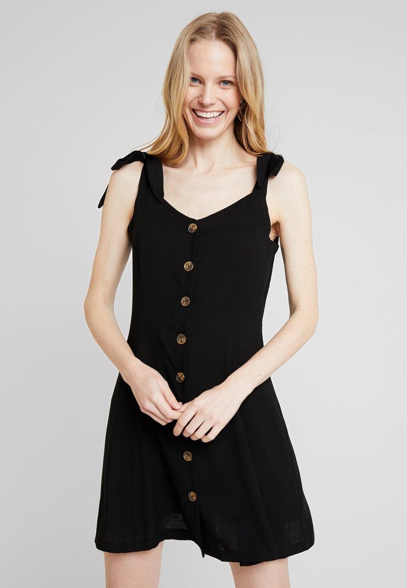 NAF NAF - LINA - Robe chemise - noir