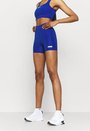 PAMELA REIF X PUMA MID WAIST SHORT - Legging - mazerine blue