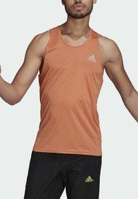 adidas Performance - OWN THE RUN PRIMEGREEN TANK RUNNING - Top - orange - 3