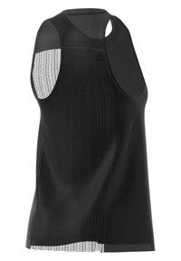 adidas Performance - DANCE TANK - Top - black/clear - 5