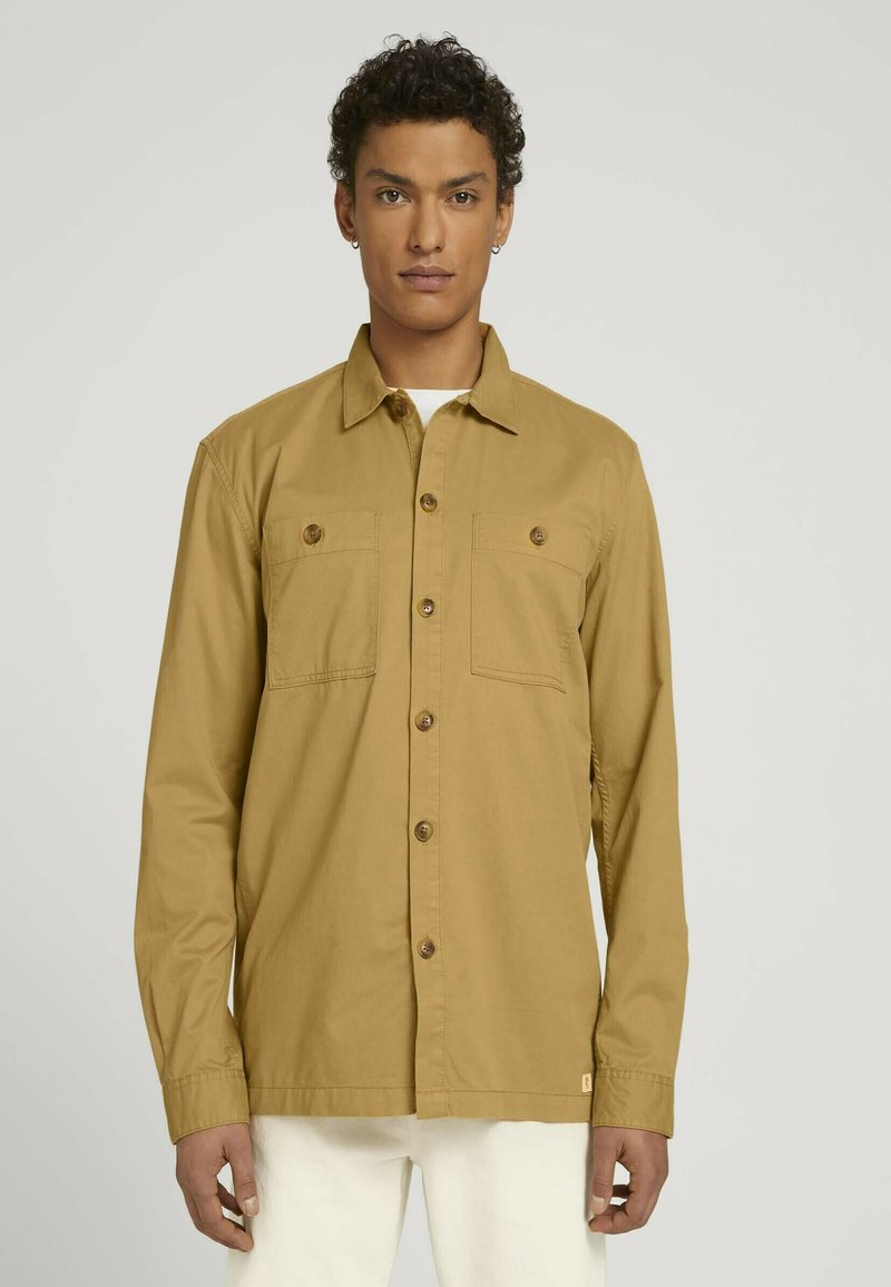 TOM TAILOR DENIM - Camicia - golden ochre