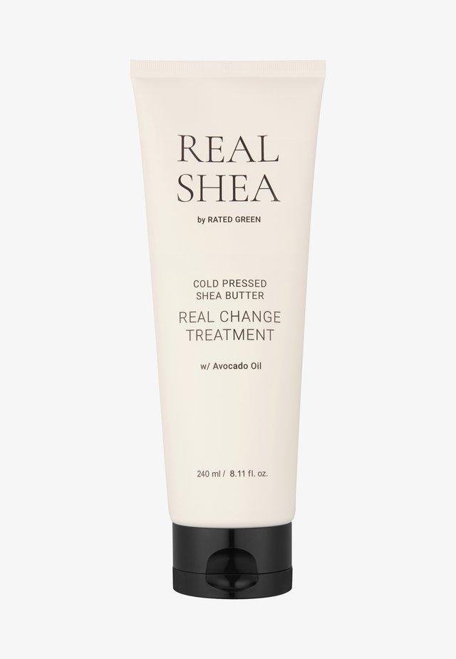 REAL SHEA REAL CHANGE TREATMENT - Hair treatment - -