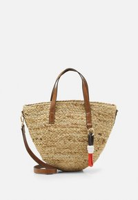 TOTE BAG - Handbag - beige