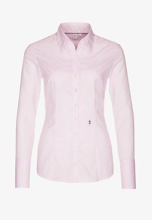 SCHWARZE ROSE - Button-down blouse - rosa