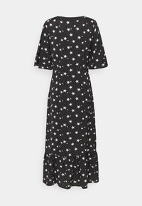 Missguided Tall - RUCHED BUST V NECK MIDI DRESS STAR - Day dress - black - 1