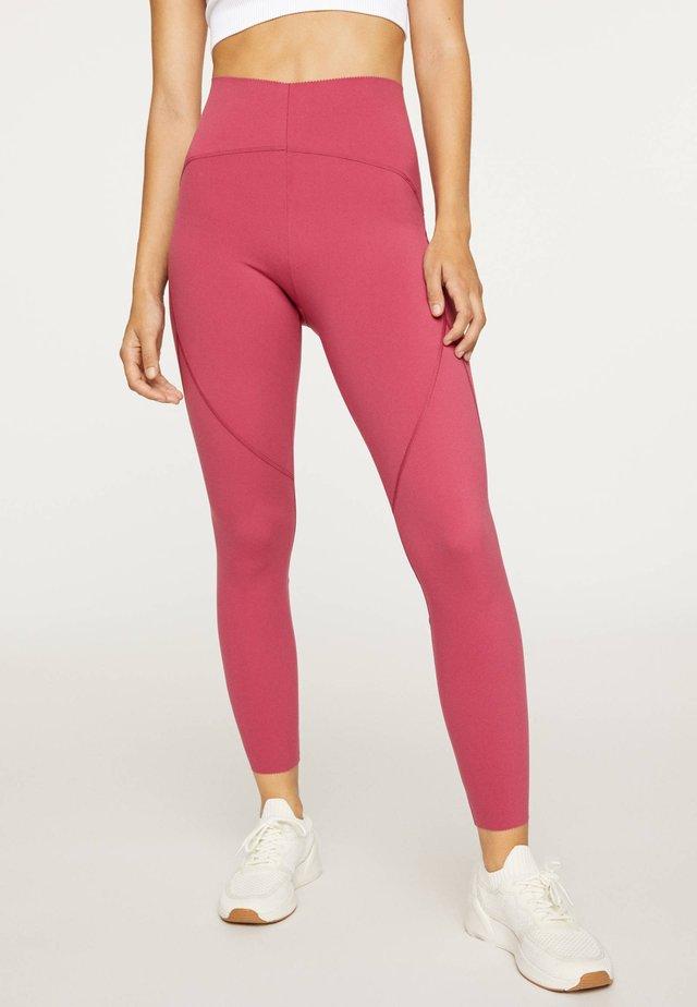 Punčochy - neon pink