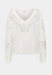 Desigual - GANTE - Pullover - white - 4