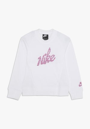 CREW - Sweatshirt - white/magic flamingo