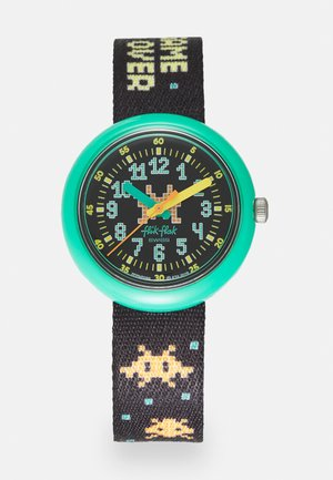 TIME INVADER - Horloge - black