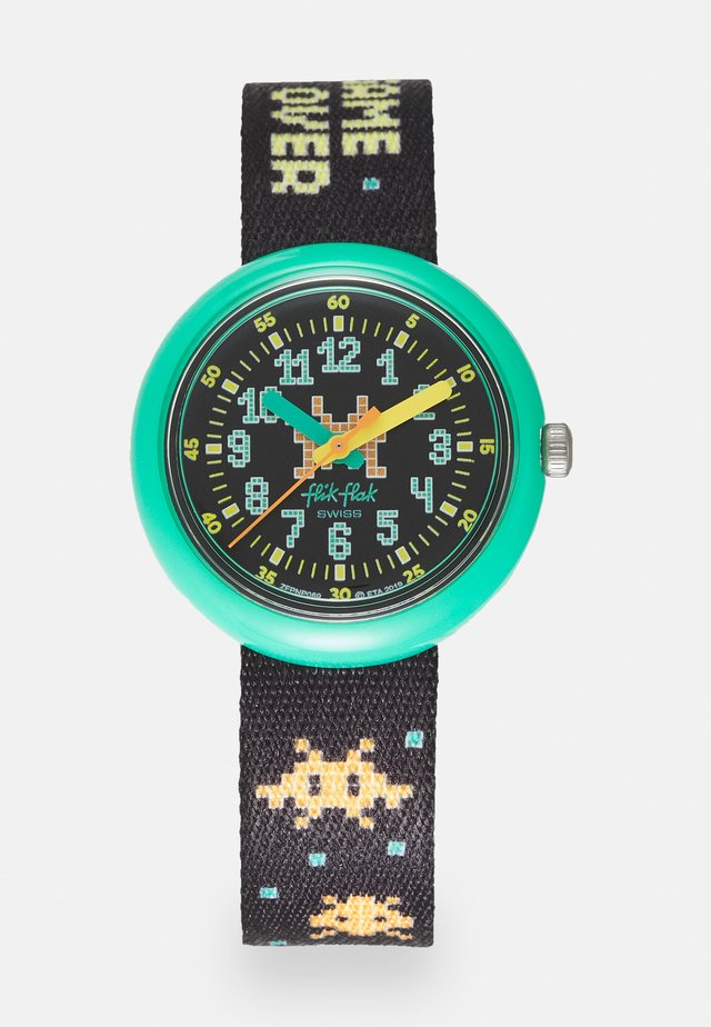 TIME INVADER - Rannekello - black