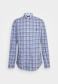 NATURAL - Košile - white/blue
