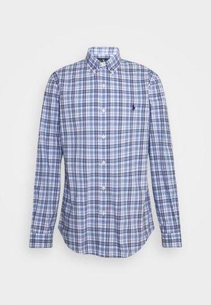 NATURAL - Overhemd - white/blue