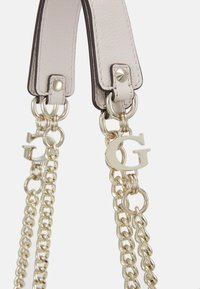 Guess - CHAIN CONVERTIBLE XBODY FLAP - Across body bag - stone - 5