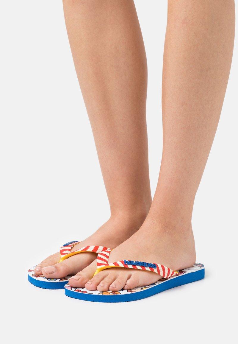 Havaianas - HAV. TOP HELLO KITTY - Pool shoes - blue star
