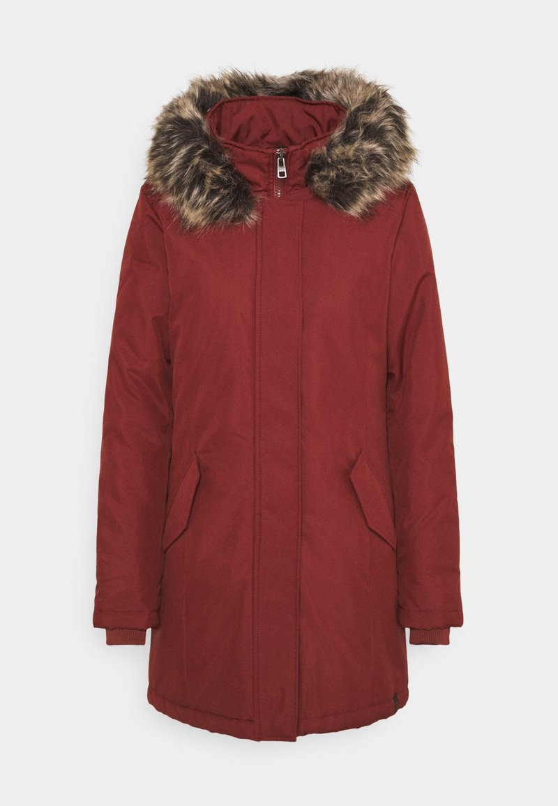 ONLY Tall - ONLKATY COAT - Parka - fired brick