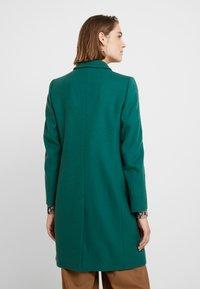 Benetton - CLASSIC TAILORED COAT - Kappa / rock - dark green - 2