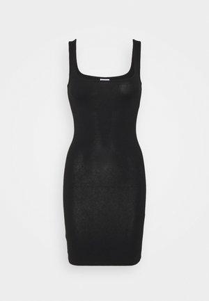 NMGENNIE DRESS  - Vestito di maglina - black