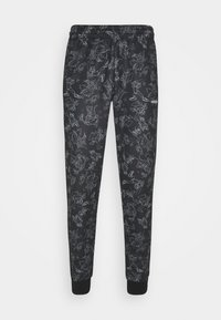 adidas Originals - GOOFY - Tracksuit bottoms - black/white - 3