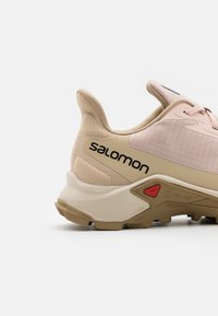 Salomon - ALPHACROSS 3  - Trail running shoes - peachy keen/rainy day/kelp - 5