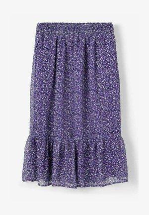 A-line skirt - purple reign