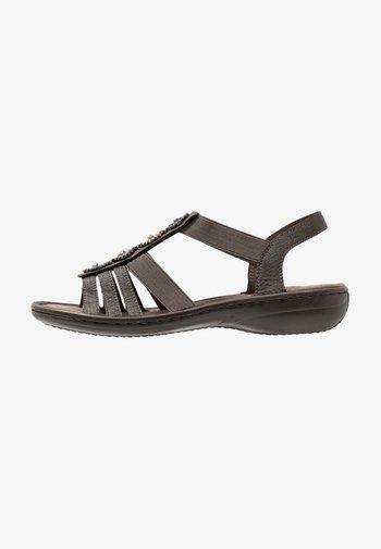 Sandals - basalt