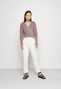 Even&Odd - Cardigan - purple - 1