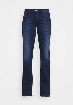 D-EBBEY - Flared Jeans - dark blue