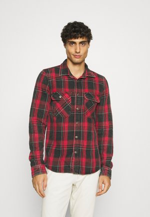 SANDRO - Overhemd - red/jumper wash