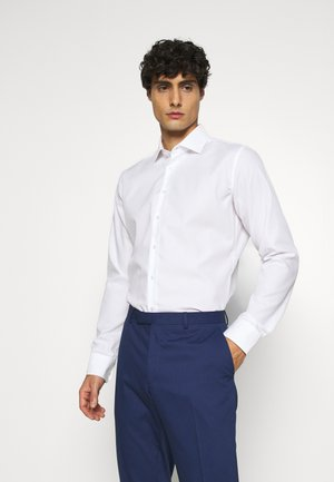 X SLIM BUSINESS KENT PATCH - Camicia elegante - weiß