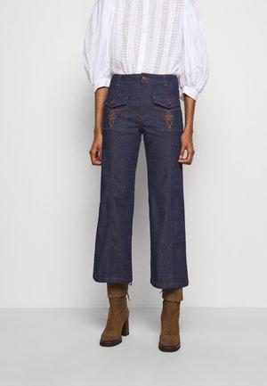 Straight leg jeans - royal navy
