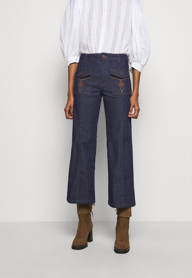 Straight leg jeans - royal navy