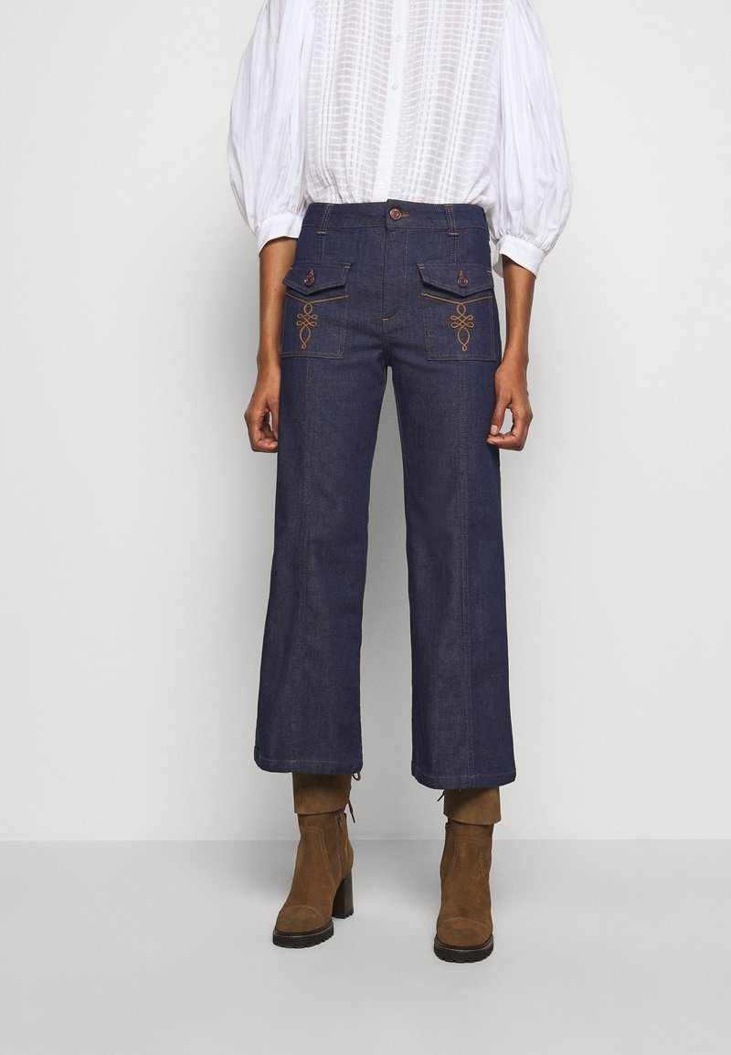 See by Chloé - Straight leg jeans - royal navy