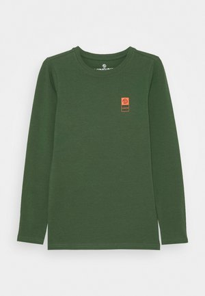 BASIC TEE - Long sleeved top - amazon green
