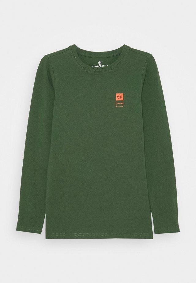Camiseta de manga larga - amazon green