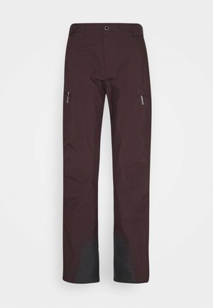 ANGULAR PANT RED ILLUSION - Ski- & snowboardbukser - red illusion