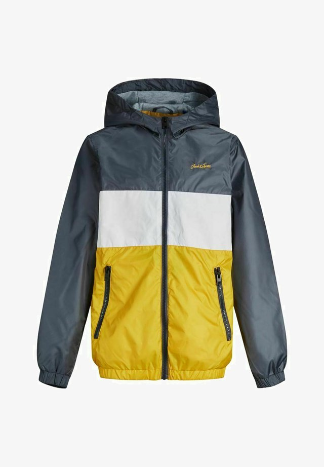 JJHUNTER LIGHT HOOD - Chaqueta de entretiempo - yolk yellow