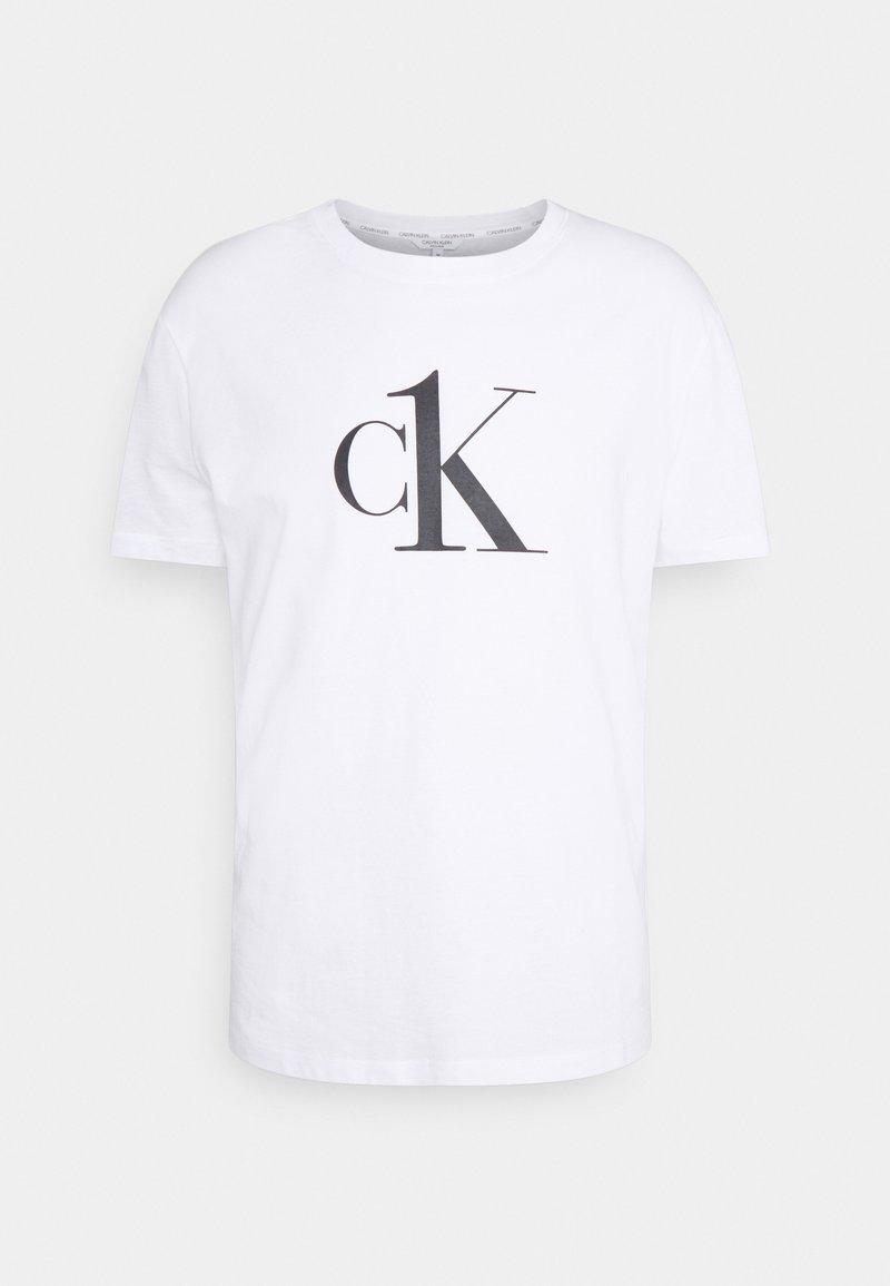 Calvin Klein Swimwear - RELAXED CREW TEE - Pyjama top - white
