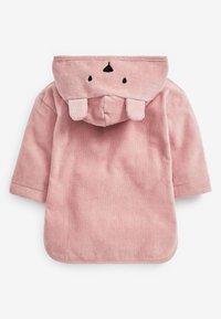 Next - TOWELLING - Jersey dress - pink - 2