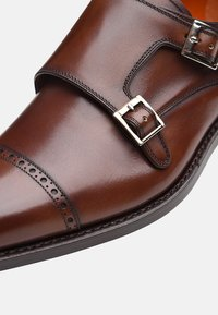 SHOEPASSION - NO. 5424 - Smart slip-ons - brown - 4