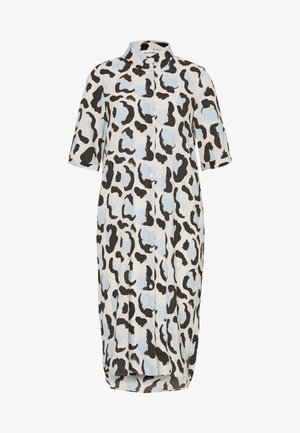 DAMIRA SHIRTDRESS - Shirt dress - white