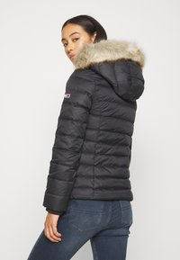 Tommy Jeans - BASIC HOODED JACKET - Down jacket - black - 2