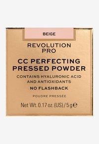 Revolution PRO - CC PERFECTING PRESSED POWDER - Powder - beige - 3