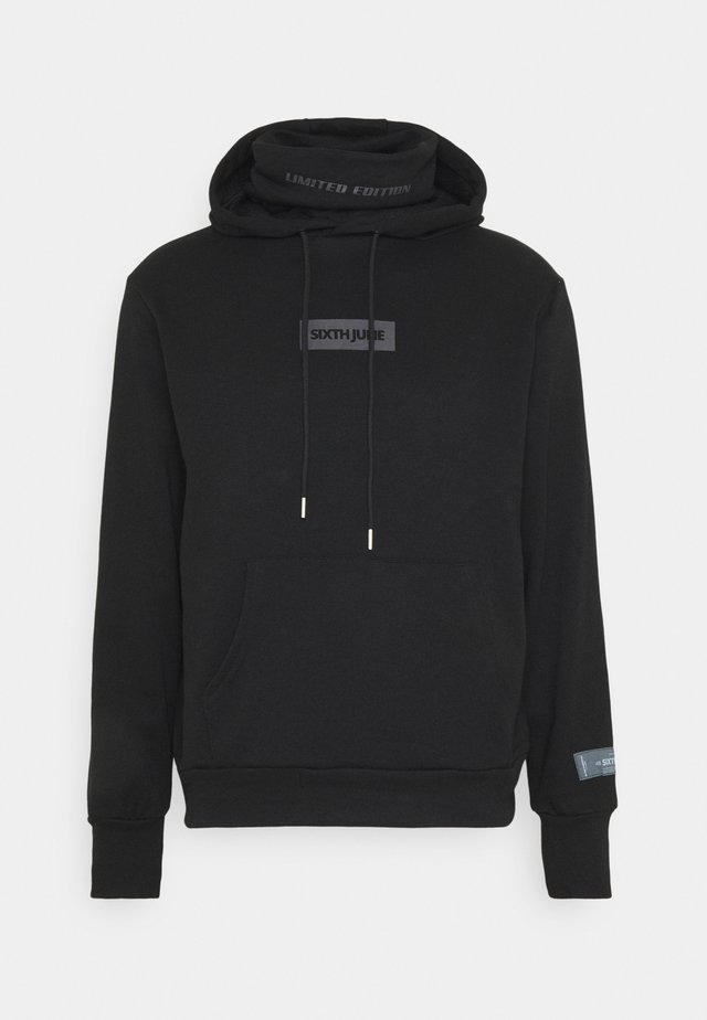 LIMITED EDITION HOODIE WITH SNOOD - Huppari - black