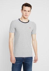 Scotch & Soda - STRIPE REPEAT - T-shirt print - white - 0