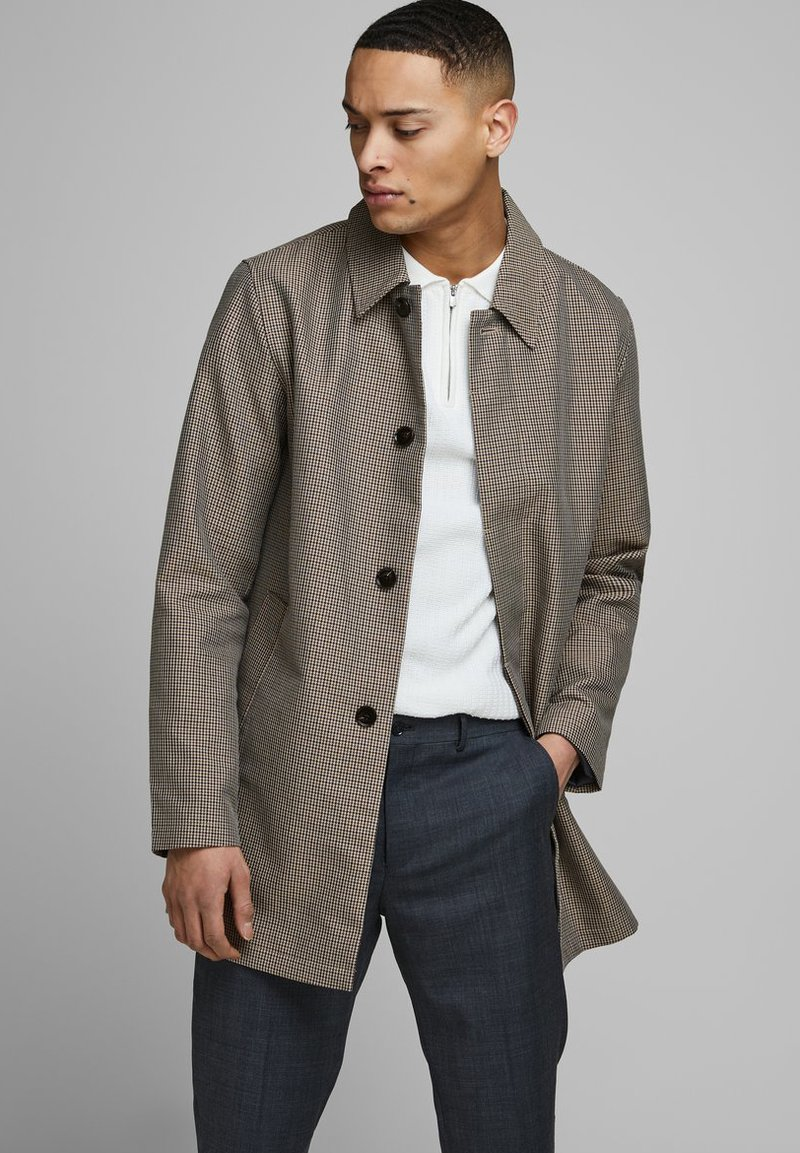 Jack & Jones PREMIUM - Short coat - brown stone